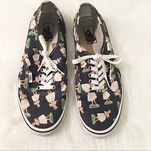 Vans men's Hawaiian dancer sneakers 10.5